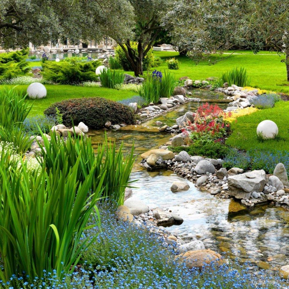 Как сделать райский уголок на своем участке