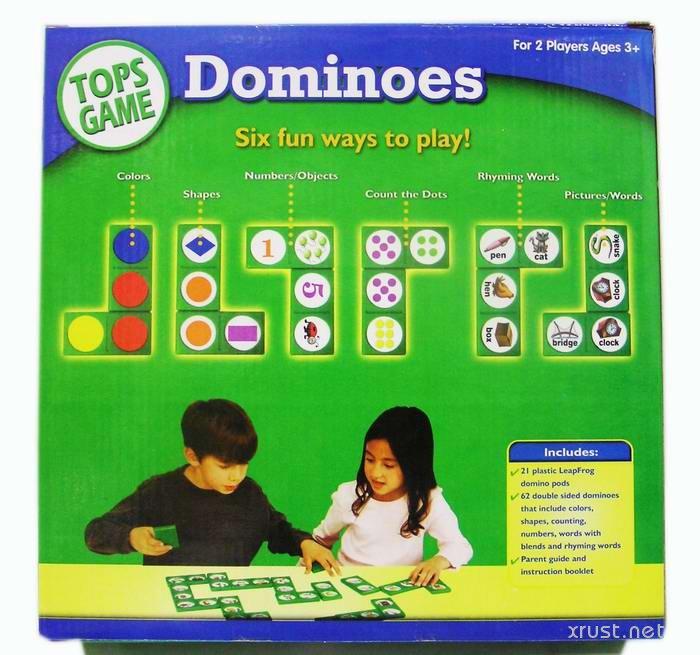 Играй и учи английский вместе с Dominoes 6 in 1!
