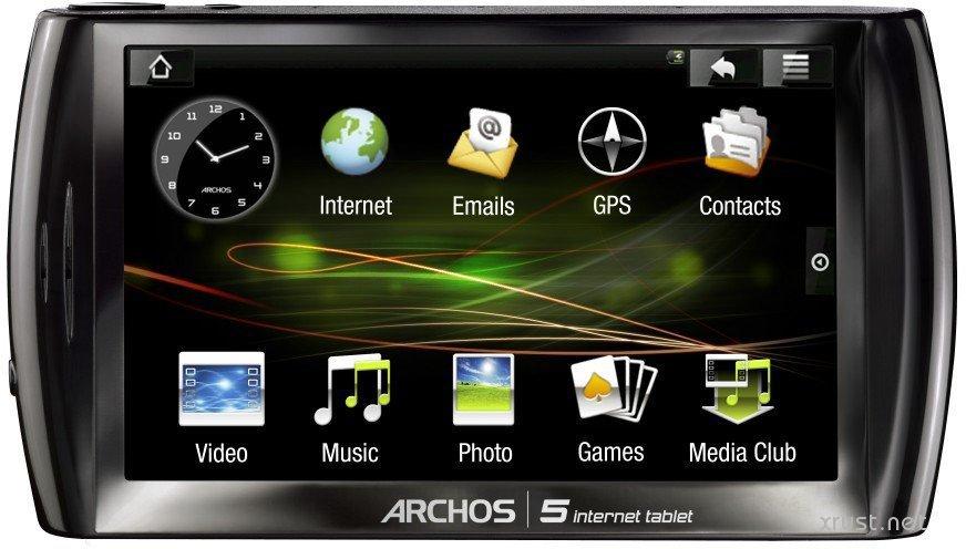 Обзор планшета Android Archos 5 Internet