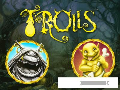 Trolls. Новый слот в виртуальном казино Лотору