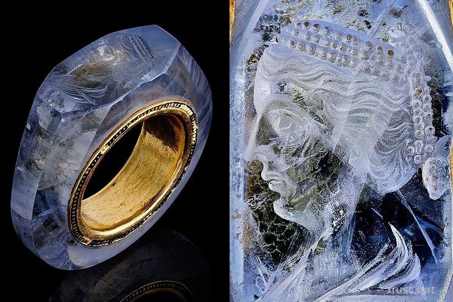 Загадочное кольцо Калигулы из сапфира