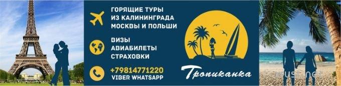 Туры в детские летние лагеря из Калининграда